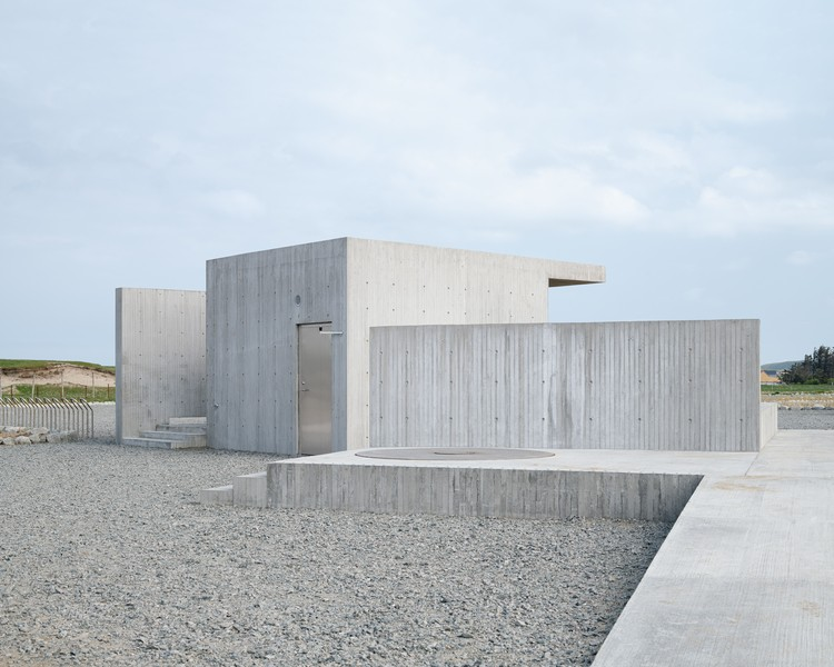 Bore Service Building / Lie Øyen Arkitekter, © Erik Sæter Jørgensen