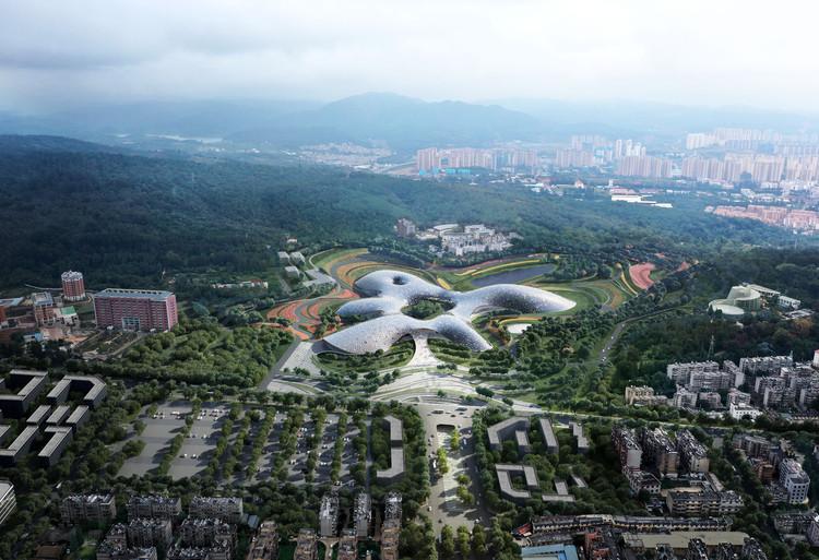 THAD e Sutherland Hussey Harris projetam novo Museu Botânico Nacional na China, CortesIa de THAD and Sutherland Hussey Harris