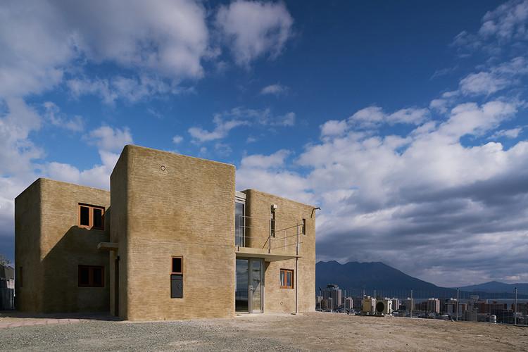 Shirasu, Sakurajima EcoHouse / ASEI ARCHITECTS, © Daici Ano