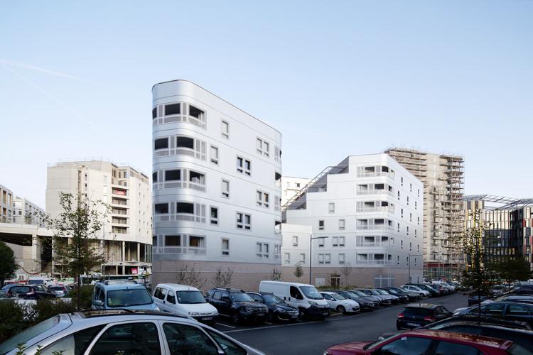 Fair Enough Apartments / BFV ARCHITECTES, © Fréderic Delangle