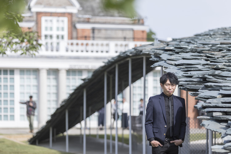 In Praise of Tokyo: in Conversation With Junya Ishigami, Ishigami and the Serpentine Pavilion. Image © Laurian Ghinitoiu