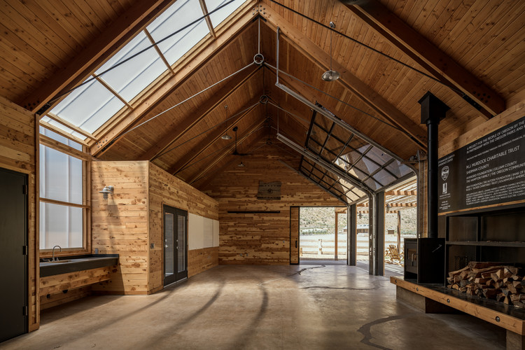 Centro de Experiência Cottonwood Canyon/ SIGNAL | Architecture + Research, © Gabe Border