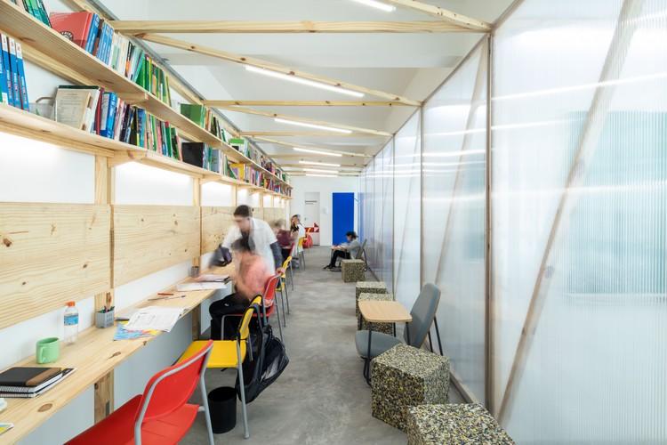 Escola Força Estudo Personalizado / Pianca Arquitetura + Gabriel Sepe + Quadradão, © Pedro Napolitano Prata