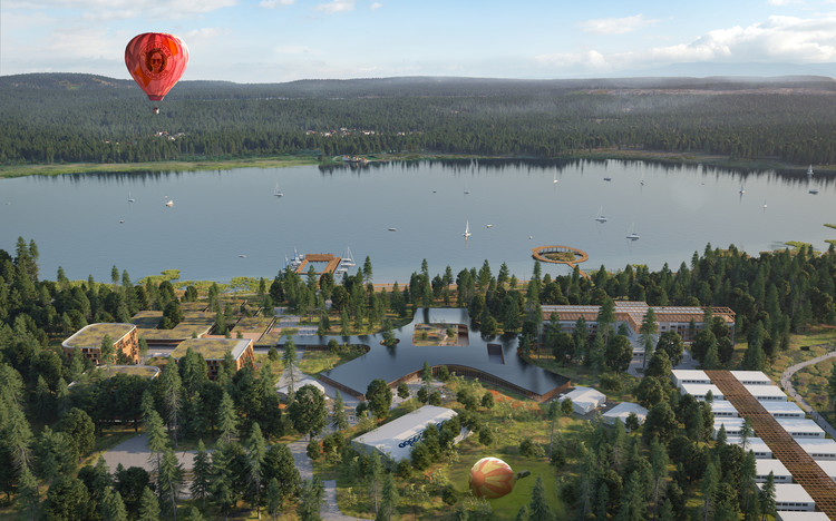 Mecanoo Wins International Competition to Design the Senezh Management LAB Campus in Russia, Courtesy of Mecanoo