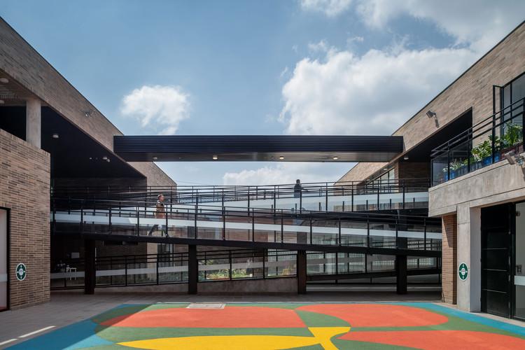 Jardín infantil y CBS El Recreo / DARP, © Mauricio Carvajal