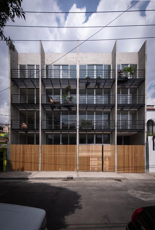 Vibe Building / COOP Arquitectos. Image © Jaime Navarro