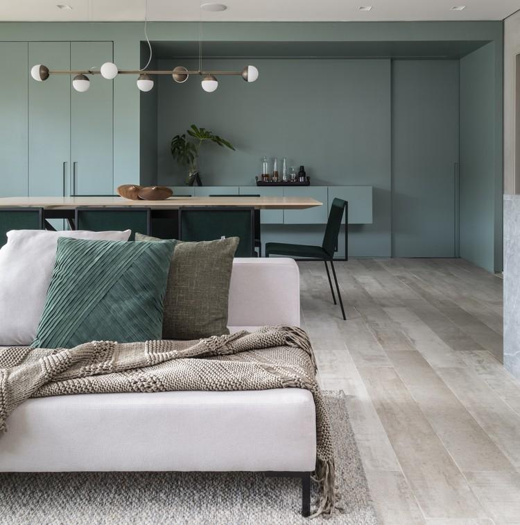 Apartamento ARQ / Sala2 Arquitetura, © Evelyn Muller