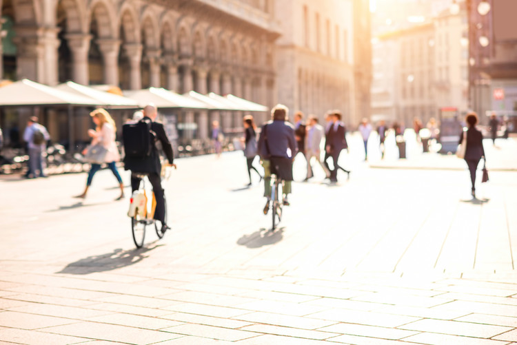 People to Reclaim Streets in Milan in Post Covid-19 Vision of the City, via Shutterstock/ By RossHelen