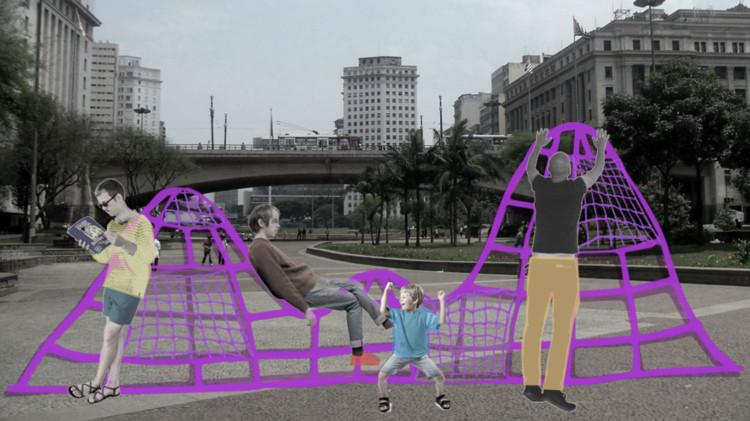 A descoberta do que é inadiável , Projeto 'Três Morros para São Paulo', de Laura Sobral e Raphael Franco