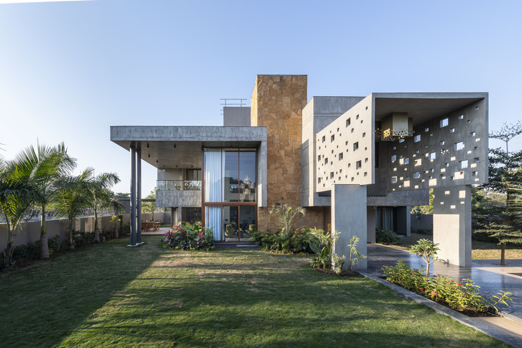 Casa PIXEL / The Grid Architects, © Photographix India