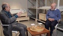 """Casa da Arquitectura entrevista Zuza Homem de Mello em evento paralelo de """"Infinito Vão - 90 Anos de Arquitetura Brasileira"""""""