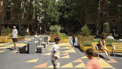 Plaza Superilla de Sant Antoni / Leku Studio