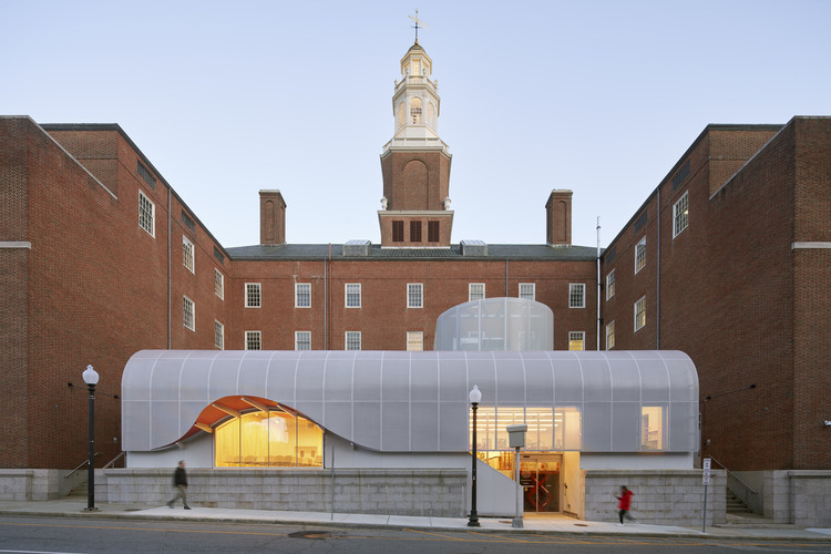 Centro de Éxito Estudiantil RISD / WORKac, © Bruce Damonte
