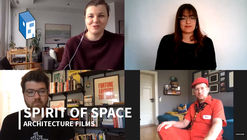 """Spirit of Space: """"El cine será el próximo gran aporte a la arquitectura"""""""