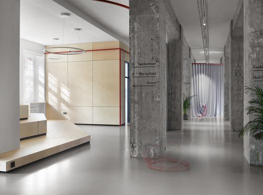 SPIELFELD Digital Hub / LXSY Architekten
