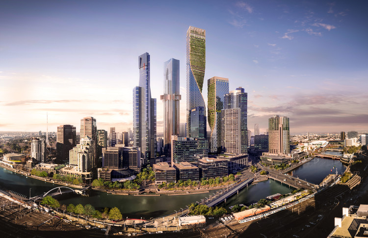 Australia's Tallest Tower Designed by UNStudio & Cox, Receives Planning Approval, Courtesy of Beulah. Renders by Norm Li