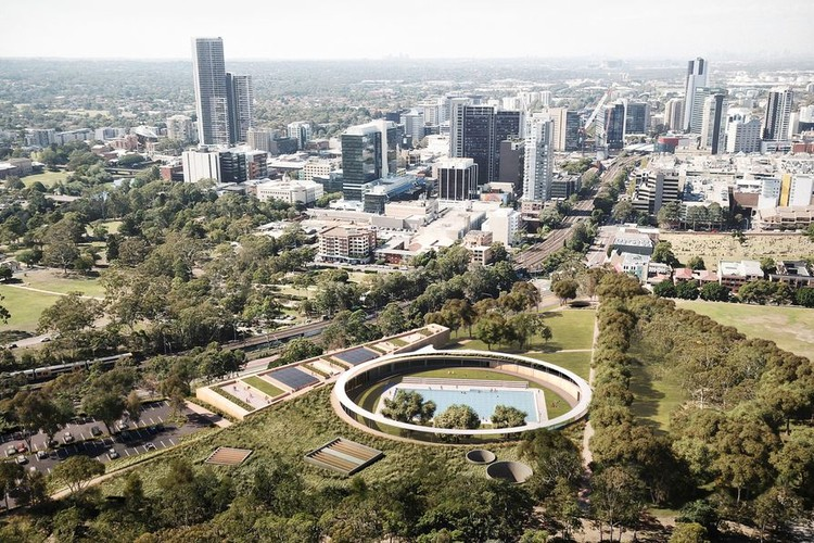 Australia's Ringed Parramatta Pool Receives Planning Approval from City Council, Courtesy of Parramatta City Council