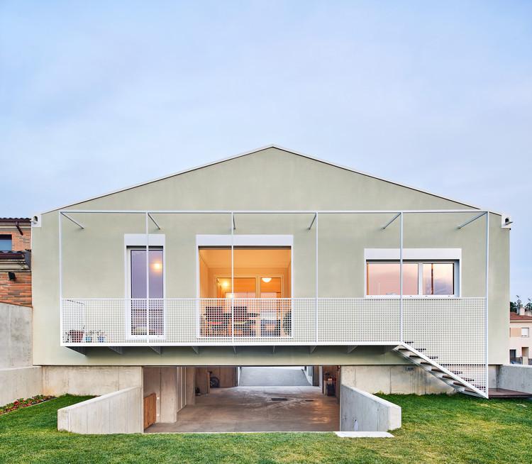 Dos casas en una / unparelld'arquitectes, © José Hevia