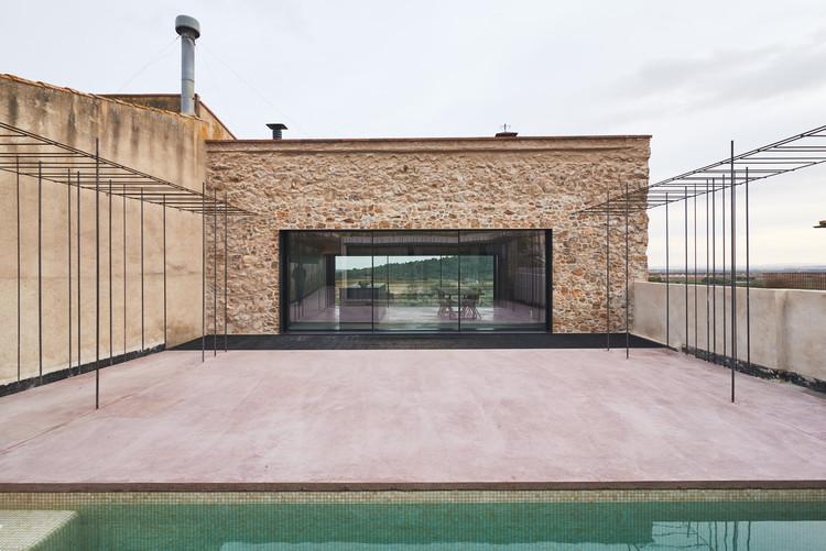 Una casa de pueblo / Atheleia Arquitectura, © Andrés Arias