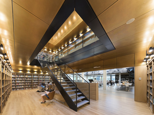Erasmus University Rotterdam Library Renovation / Defesche Van den Putte architecture + urbanism