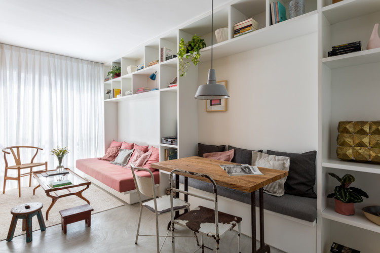 Apartamento São Francisco / Leandro Garcia, © Fran Parente