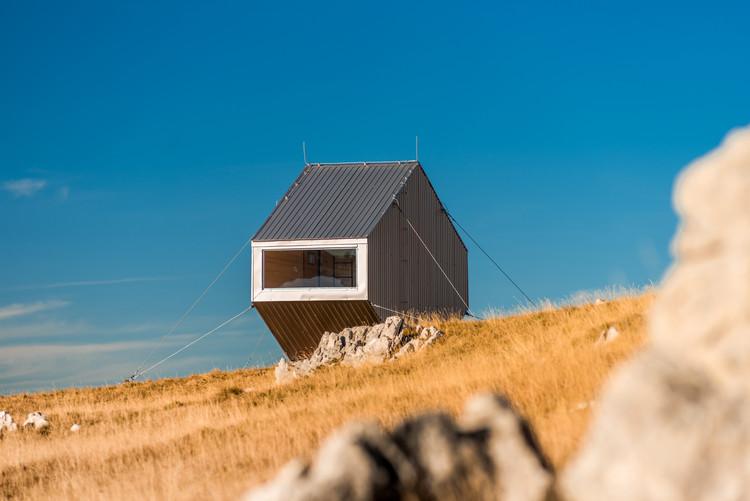 Bivouac Zoran Šimić Cabin / Filter Architecture, © Jadran Čilić
