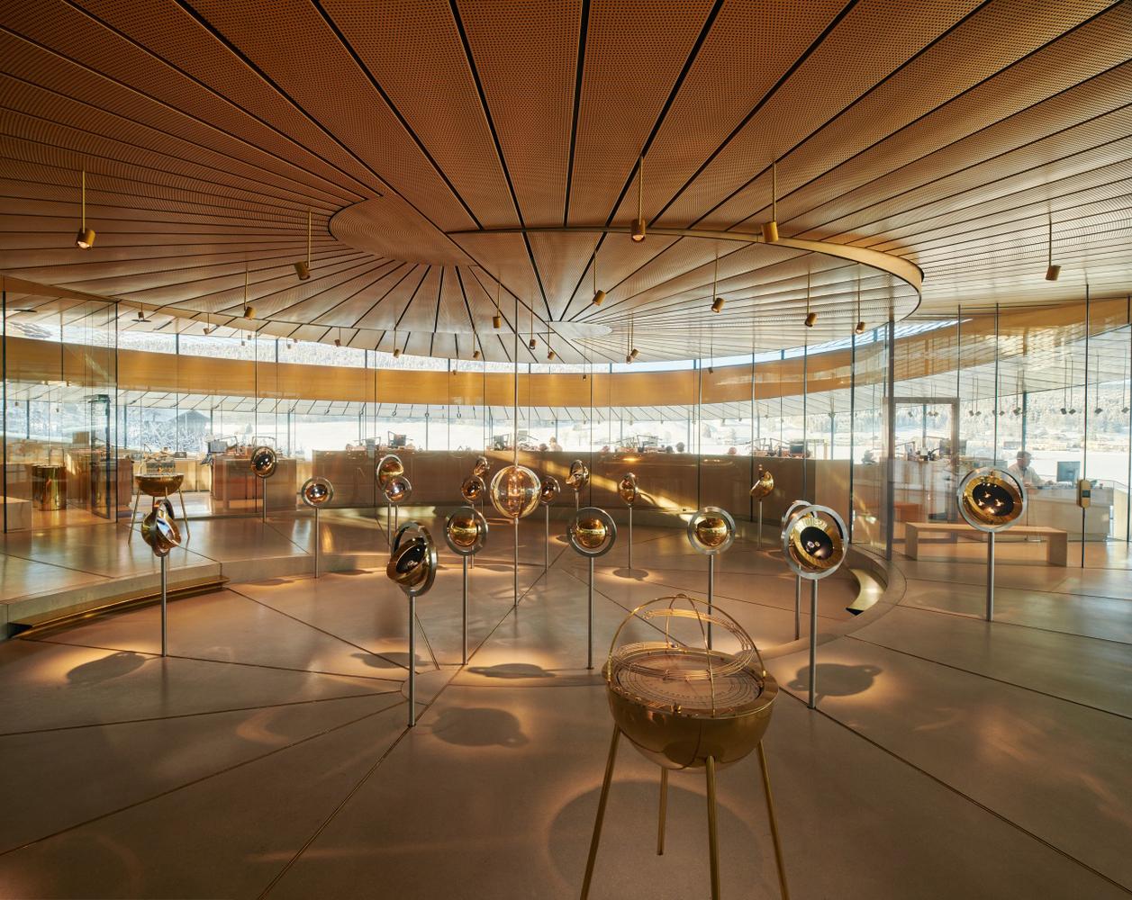 Musée Atelier Audemars Piguet / BIG + ATELIER BRÜCKNER + CCHE,© Iwan Baan