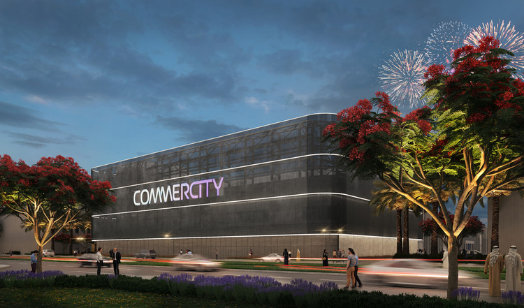 A City for E-Commerce is Under Construction in Dubai, Courtesy of P&T Architects and Engineers