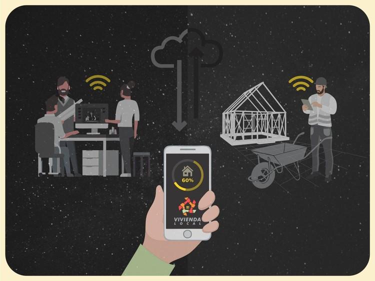 Vivienda local, plataforma web para proyectos de autoconstrucción colaborativa asistida, © Vivienda Local