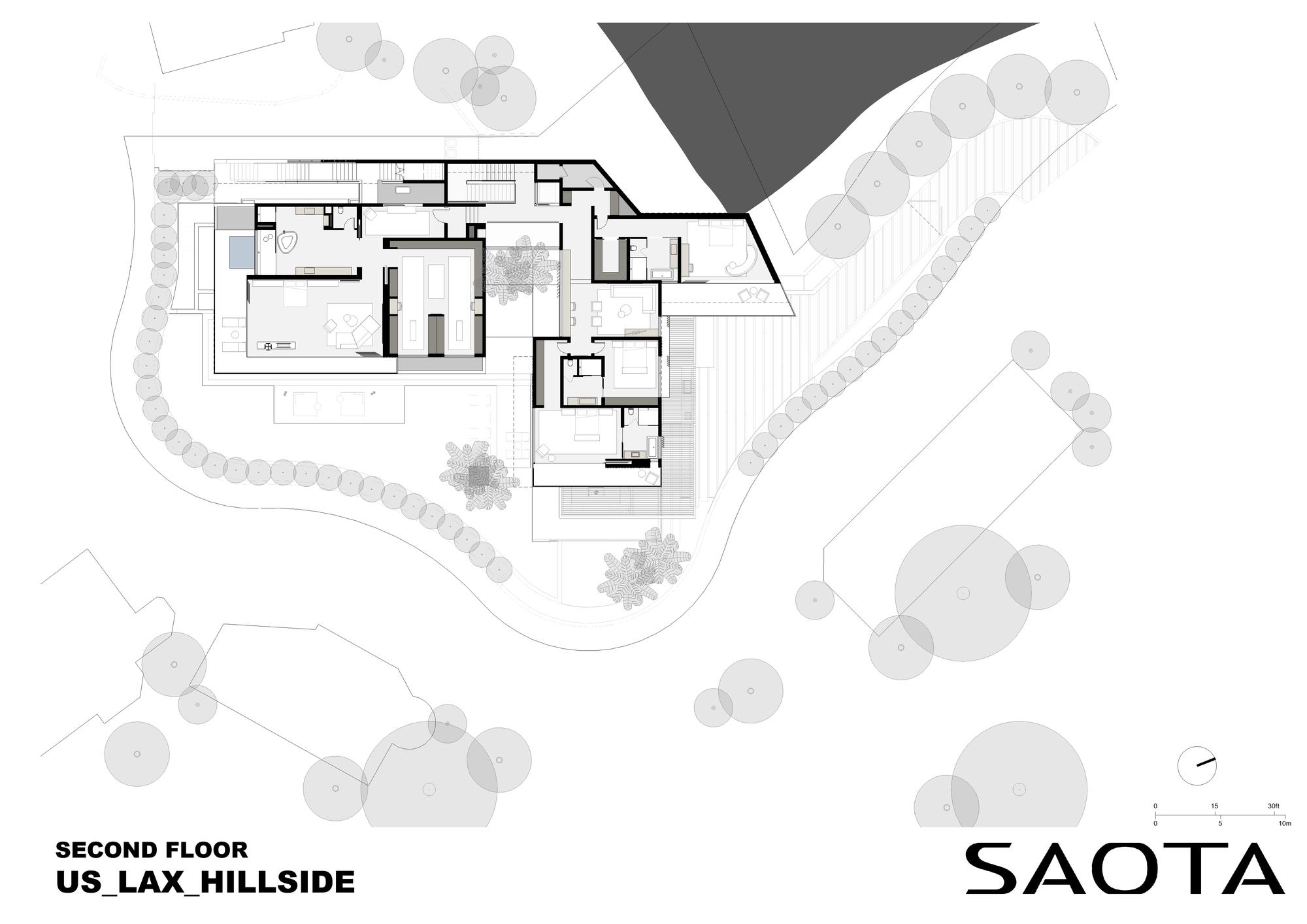 Gallery Of Hillside House Saota 37