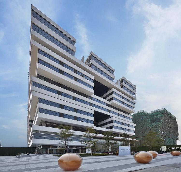 Guangzhou Vanke Cloud / HCD-iDEA, perspective. Image © Guangzhou Vanke Cloud City