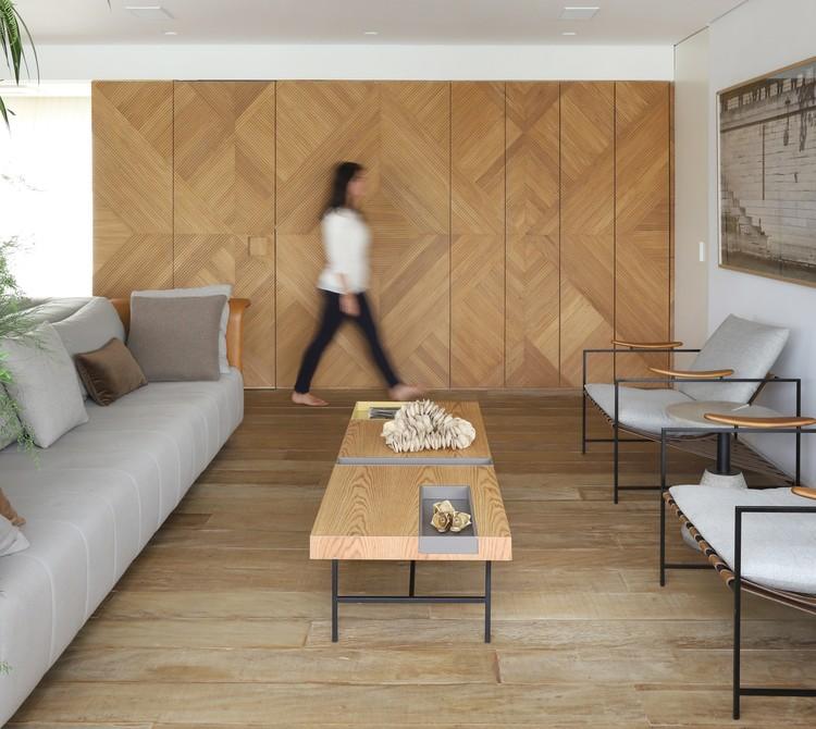 Apartamento Núcleo  / MAB3 Arquitetura, © Mariana Orsi