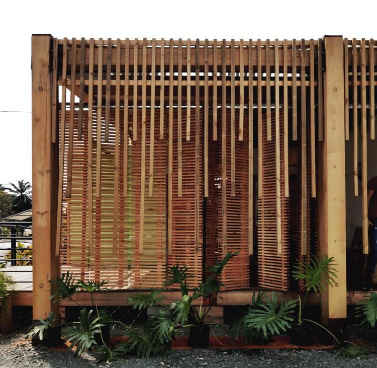 Propuesta de vivienda para comunidades sostenibles en la costa de Buenaventura, Colombia, Cortesía de Universidad Javeriana