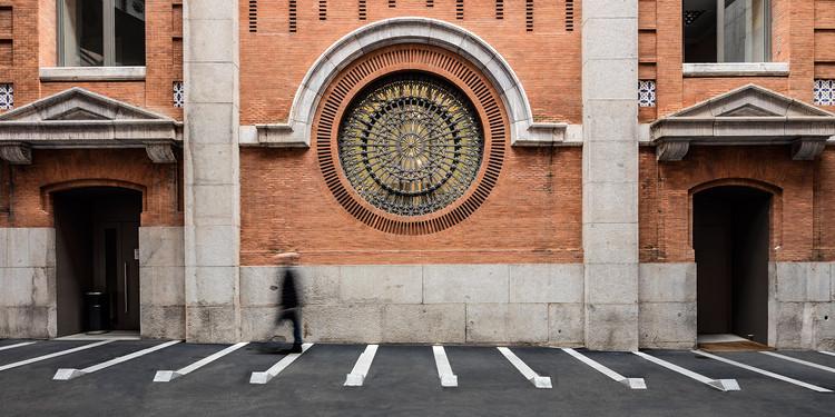 Patio de operaciones Banco de España / Vora Arquitectura + Virai Arquitectos, © Adrià Goula