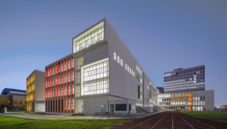 Vue du campus sud-est.  Image © Shengliang Su