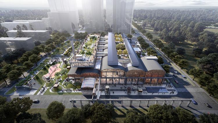 济南第一机床厂改造工程。 图片由DC Alliance提供•c + d设计研究中心
