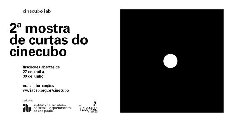 2ª Mostra de Curtas Cinecubo IAB, Divulgação 2a Mostra de Curtas Cinecubo IAB