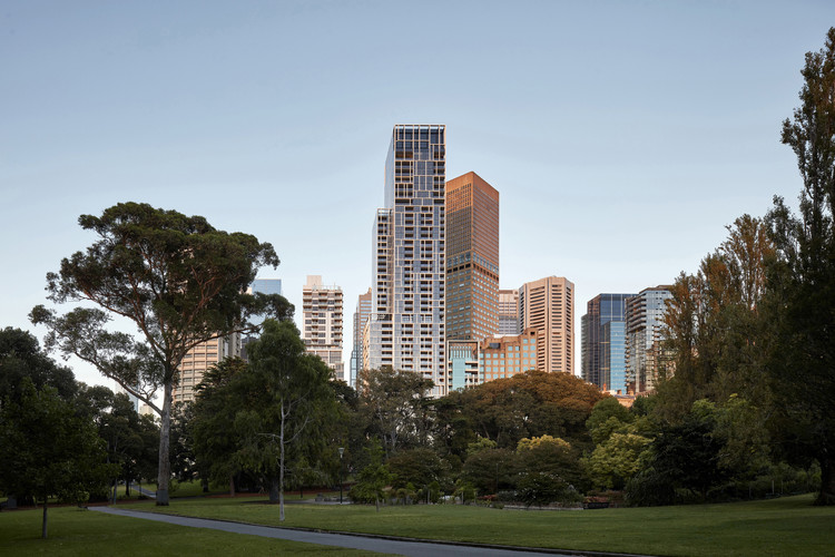 35 Spring Street Residential Tower  / Bates Smart, © Peter Clarke