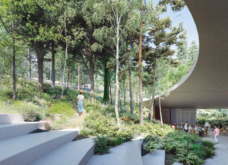 CHYBIK + KRISTOF Design Senezh Campus Concept in Russia, Courtesy of CHYBIK + KRISTOF