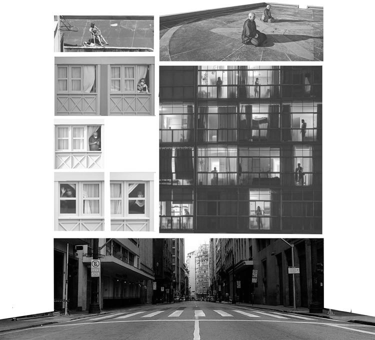 Um tempo para repensar o edifício: estratégias para coberturas, fachadas e térreos durante a pandemia, Cortesia de GOAA - Gusmão Otero Arquitetos Associados