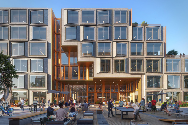 KPF Breaks Ground on an Innovative Office Complex in San Jose, California, Courtesy of KPF