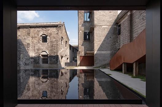 inner courtyard landscape. Image © Qingshan Wu