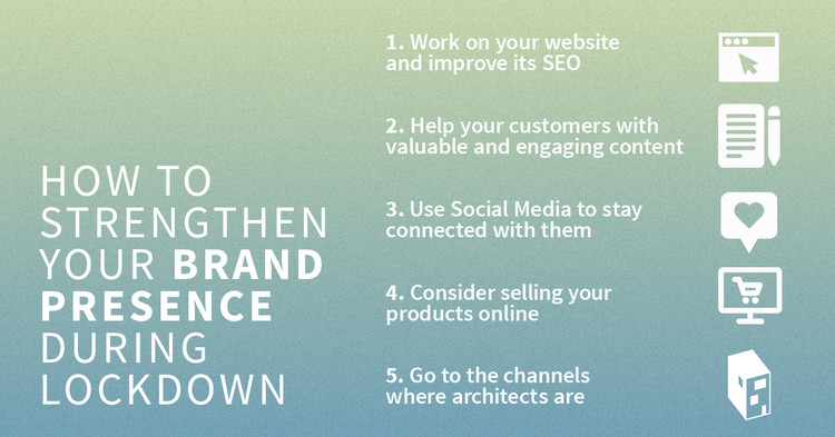 How to Strengthen your Online Presence and Promote your Architectural Products during Lockdown, © ArchDaily