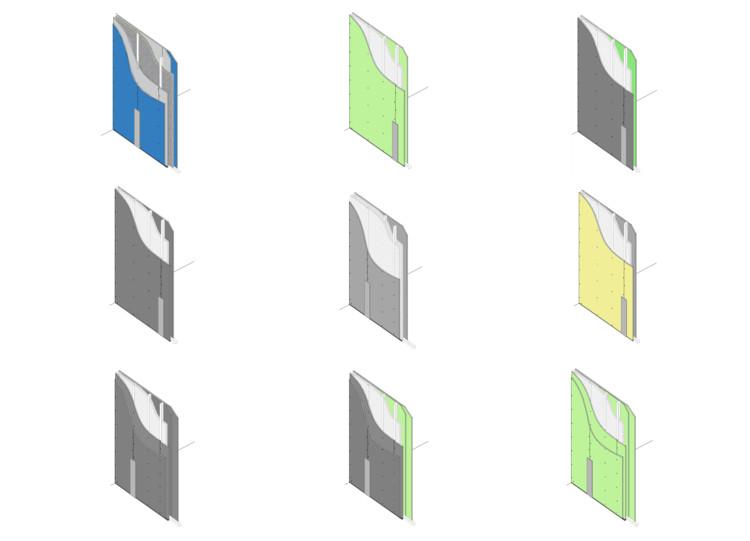 ¿Cómo diseñar tabiques para la arquitectura hospitalaria? 9 detalles de muros de alto rendimiento, Cortesía de Etex Chile / Romeral