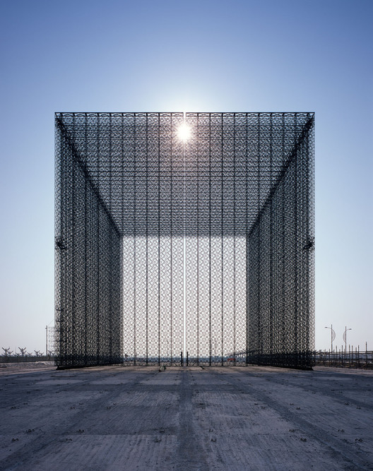 New Dates for Expo 2020 Dubai Announced, Expo Entry Portals by Asif Khan. Image © Helene Binet