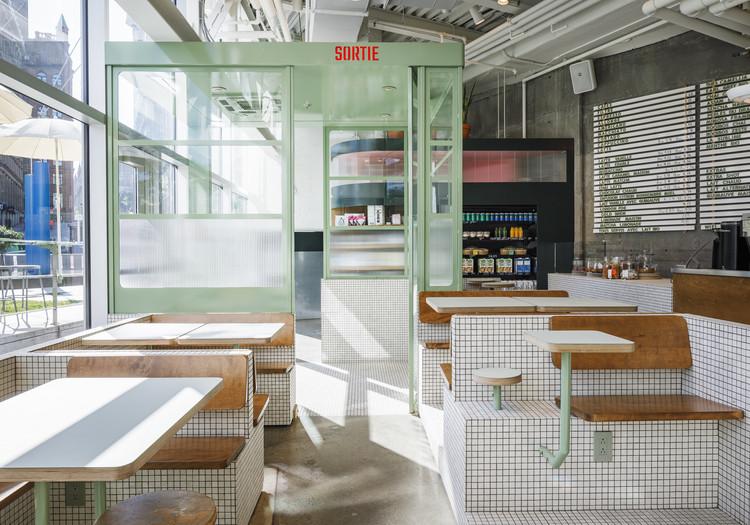 Café Melk / La Firme + Alexandre Baldwin , © Ulysse Lemerise