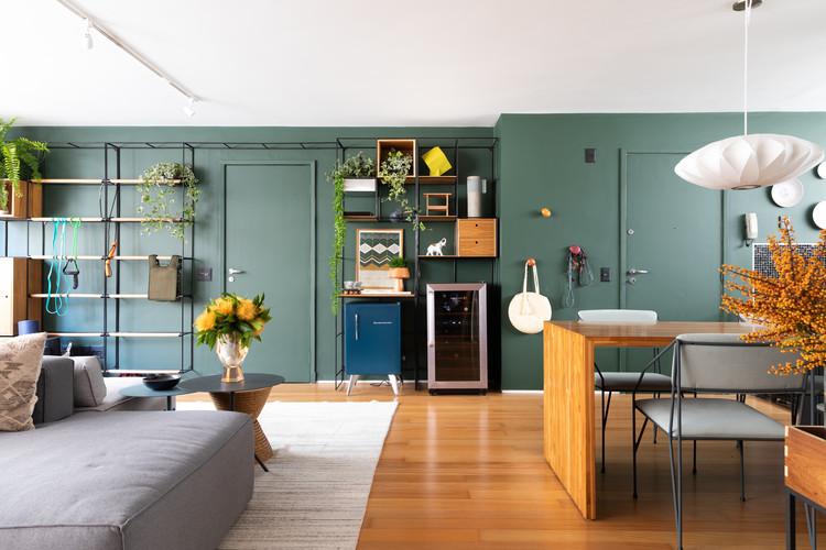 Apartamento Sabará / Ana Sawaia Arquitetura, © Lufe Gomes