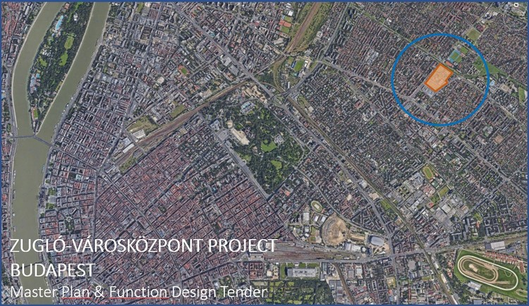 Call for Entries: Budapest, Zuglo-Varoskozpont, Master Plan & Function Design Tender