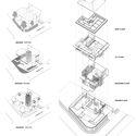 R1 Omah Le Beton Diagram - Tresno House / RAW Architecture: Biệt thự hiện đại cây xanh và hồ bơi