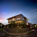 00 Context and Elevation (6) - Tresno House / RAW Architecture: Biệt thự hiện đại cây xanh và hồ bơi